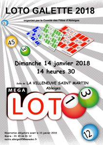 Loto Ableiges 2018