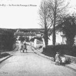 Le pont du passage a niveau d'Ableiges