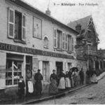 Rue principale d'Ableiges